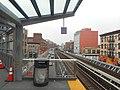Nostrand Avenue LIRR Station; Looking West @ Tunnel.jpg