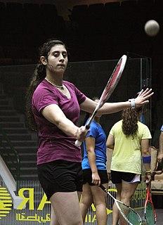 Nour El Sherbini egyptian squash player