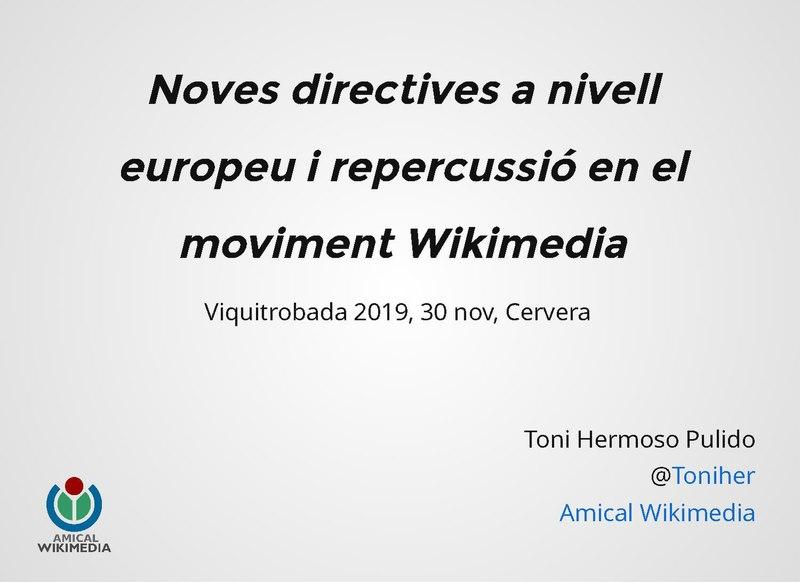 File:Noves directives europees i llur repercussió en el moviment Wikimedia.pdf