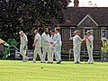 Nuthurst CC v. The Royal Challengers CC at Mannings Heath, West Sussex, England 01.jpg
