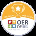 OER Festival 2016 - Badge - OER-Award.png