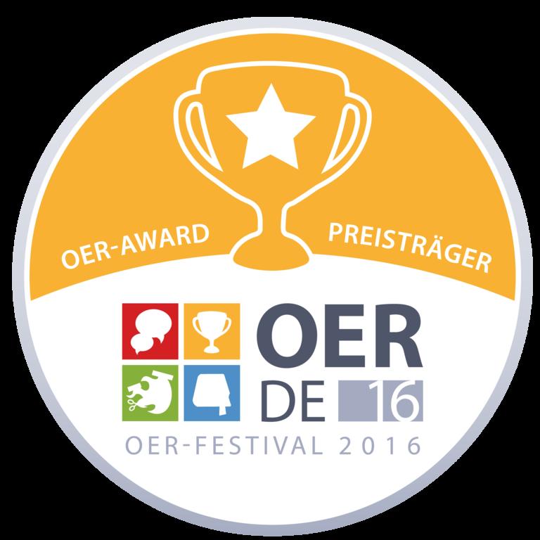 Badge del Festival OER 2016