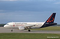 OO-SSA - A319 - Brussels Airlines