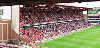 Oakwell - The East Stand