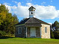 Octagonal Schoolhouse, northern face.JPG