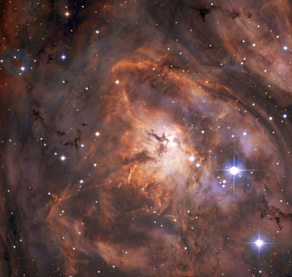 Off to a strong start Lagoon Nebula