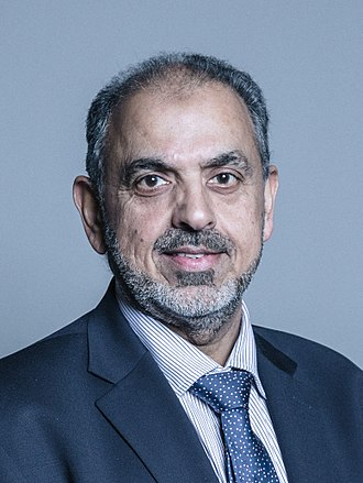 Nazir Ahmed, Baron Ahmed - Image: Official portrait of Lord Ahmed crop 2