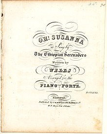 "Image result for  Stephen Foster's ""Oh! Susanna"""