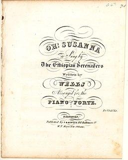 Oh! Susanna American song