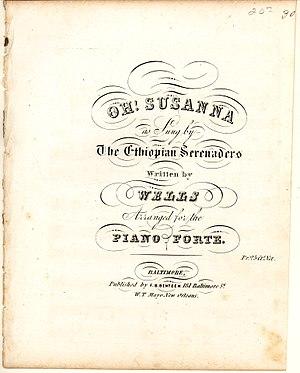 Oh! Susanna - Image: Oh! Susanna 1