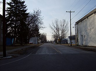 Ohio State Route 37 - Along State Route 37 at Marseilles in Wyandot County.