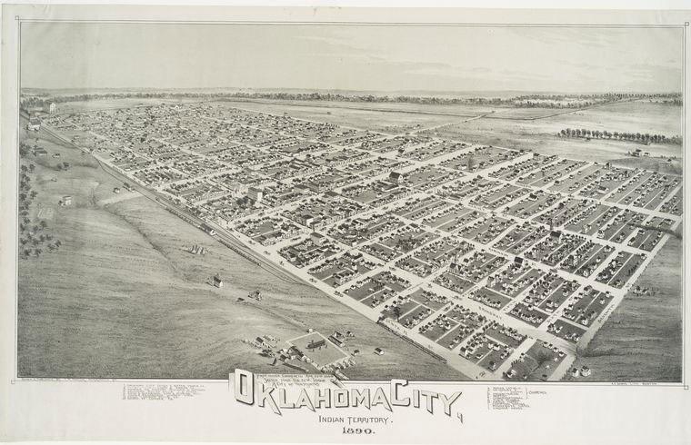 Oklahoma City 1890