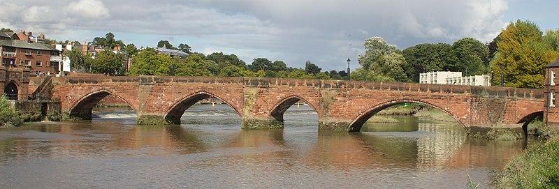 File:Old Dee Bridge from DownStream 2.jpg