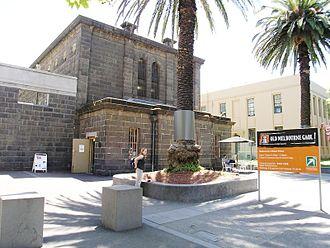 Old Melbourne Gaol - Image: Old Melbourne Gaol Melbourne (76468479)