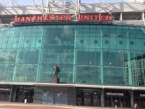 Old Trafford, Greater Manchester - Old Trafford front