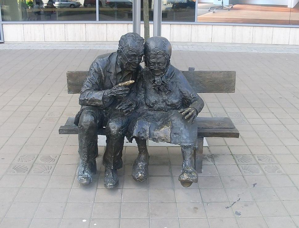 Old marriage at Plac Kaszubski
