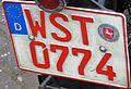 Oldtimer plate of Germany.JPG
