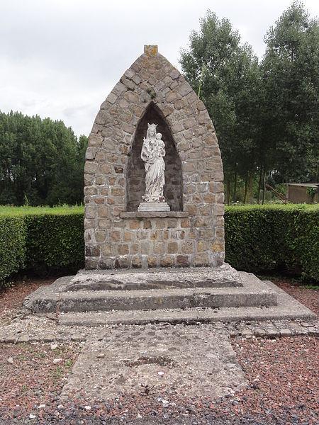 Ollezy (Aisne) chapelle-oratoire