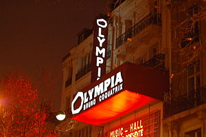 René-Louis Baron - Salle de spectacle : Olympia de Paris (France).