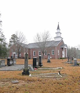 Oolenoy Baptist Church Cemetery United States historic place