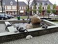 Ootmarsum - Fontein gemaakt door Gernot Rumpf en Barbara Rumpf op het Kerkplein - 2.jpg