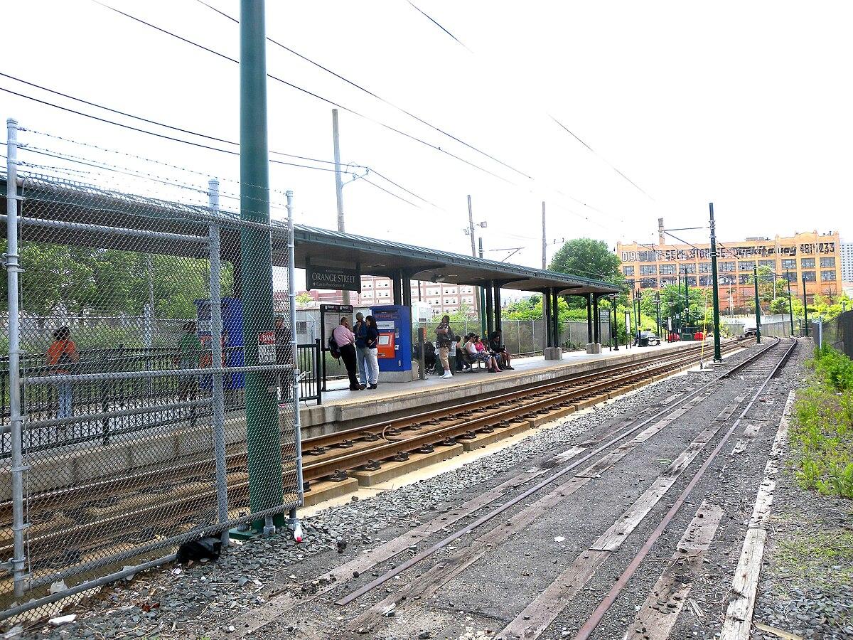 Orange Street Station Newark Light Rail Wikipedia