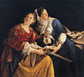 Orazio Gentileschi - Judith and Her Maidservant with the Head of Holofernes.JPG