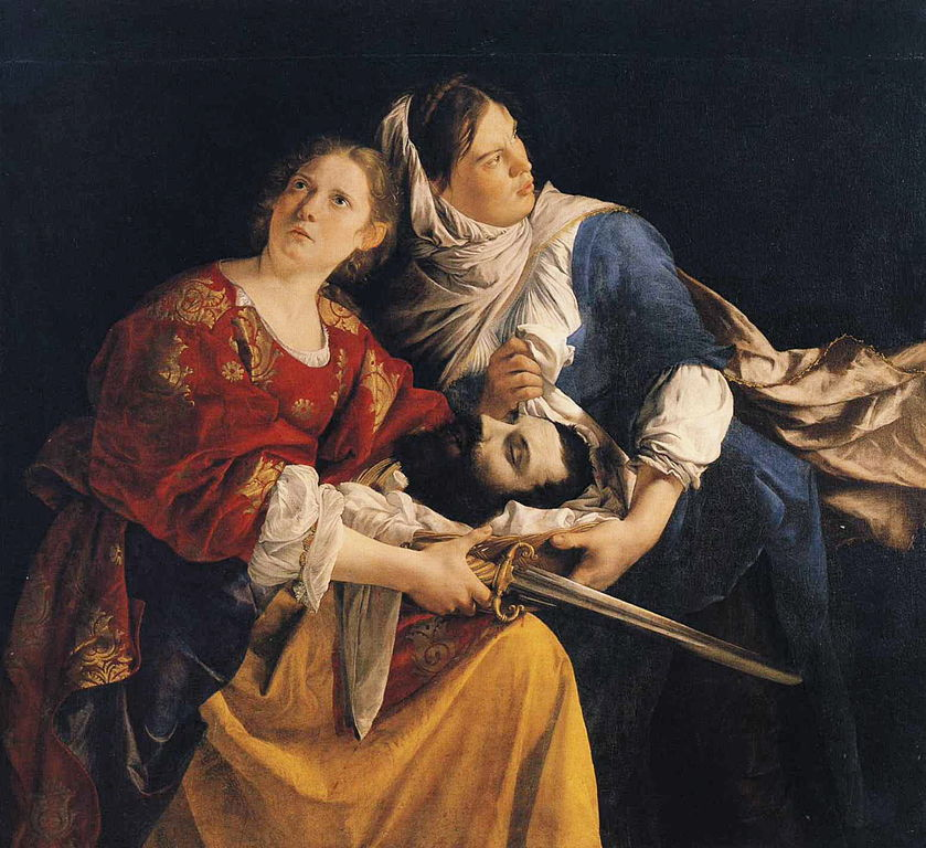 File:Orazio Gentileschi - Judith and Her Maidservant with ...