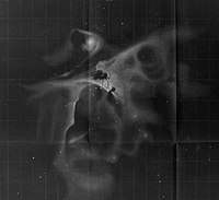 Orion Nebula - Drawing - John Herschel -1847 - rotated by 180°.jpg