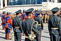 Orkiestra mongolskiej armii na placu Suche Batora w Ułan Bator 01.JPG