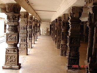 Cheluvanarayana Swamy Temple - Mantapa at the temple