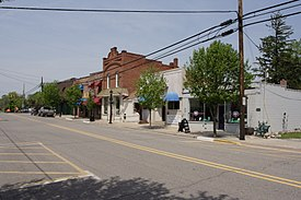 Downtown Ortonville along Mill Street