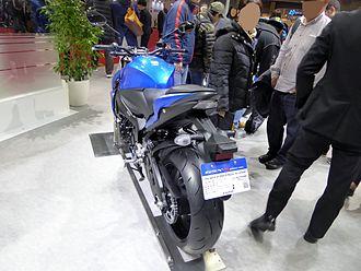 Suzuki GSX-S1000 - Rear view of the GSX-S1000.