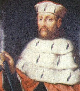 Otto II, Duke of Bavaria - Portrait from Die Chronik Bayerns