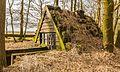 Oude schuilhut met vangkraal voor heideschapen. Locatie, natuurgebied Delleboersterheide.jpg