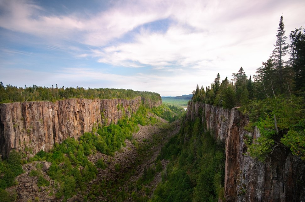 Ouimet Canyon Canada Ontario taken by photographer David Sullivan