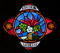 Our Lady's Island Church of the Assumption Clerestory Window Rubus Visionis 2010 09 26.jpg