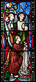 Our Lady's Island Church of the Assumption East Aisle South Window Baptism of Christ Left Part 2010 09 26.jpg