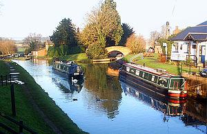 Hillmorton - Oxford Canal at Hillmorton