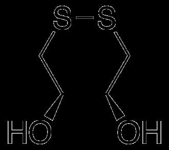 Dithioerythritol - Image: Oxidized DTE