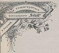 Ozdobny listownik Towarzystwa Gimnastycznego Sokol w Jeżycach.jpg