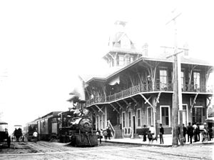 Pensacola and Atlantic Railroad - Image: P&A passenger station Pensacola