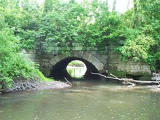 Pennsylvania and Ohio Canal - Image: P&O Aqueduct