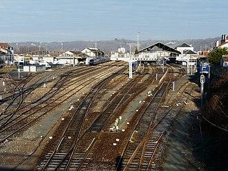 Gare de Périgueux - Image: Périgueux gare (2)