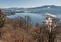 Pörtschach Gloriette-Blick auf Wörther See und Blumeninsel 26122020 0281.jpg