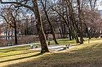 Pörtschach Hans-Pruscha-Weg Park mit Schachspielplatz 23122017 2134.jpg