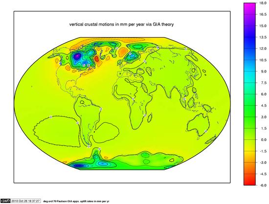 Post-glacial rebound - Wikipedia