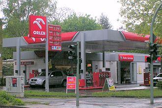 PKN Orlen - Filling station in Germany