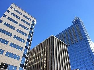 PNC Plaza (Raleigh) - Image: PNC Plaza Raleigh Skyline