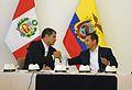 PRESIDENTES DEL PERU Y ECUADOR ALCANZARON IMPORTANTES ACUERSOS QUE BENEFICIARAN A NUESTROS PUEBLOS FRONTERIZOS (6942595781).jpg